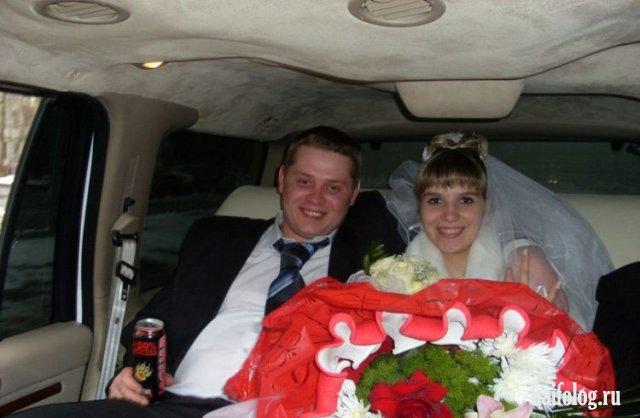 Фотографии убойных свадеб, выложенные в социальные сети