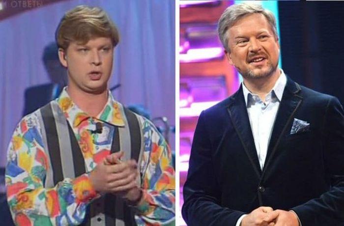 Как за 20 лет изменились ведущие на российском ТВ