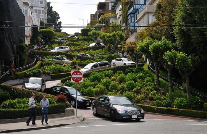 Сан-Франциско - самая красивая улица в мире