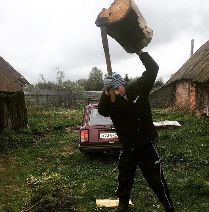 Настоящая красота русской деревни