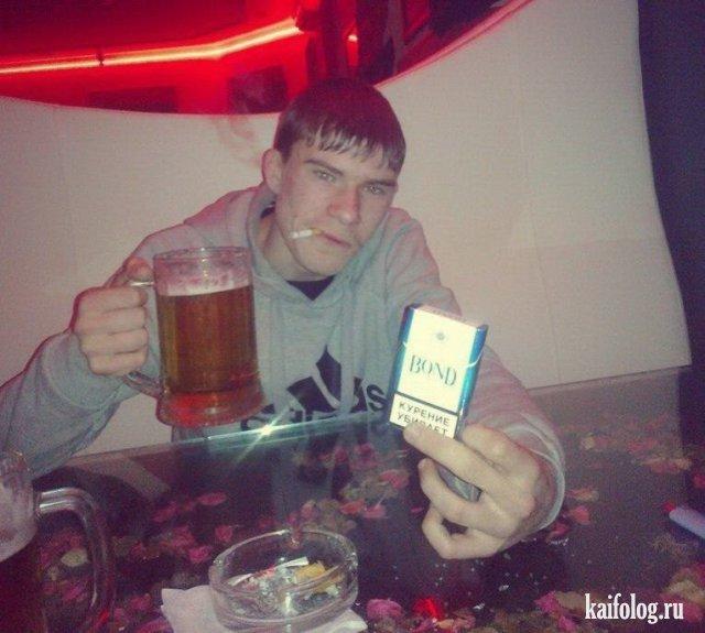 Подборка фотографий пьяных придурков из социальных сетей
