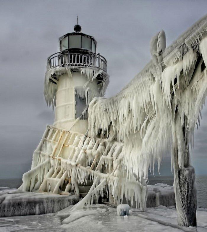 Ледяные причуды природы - красивые картинки