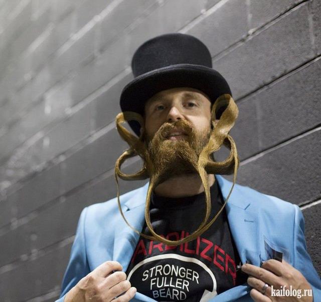 Прикольные картинки про бороды