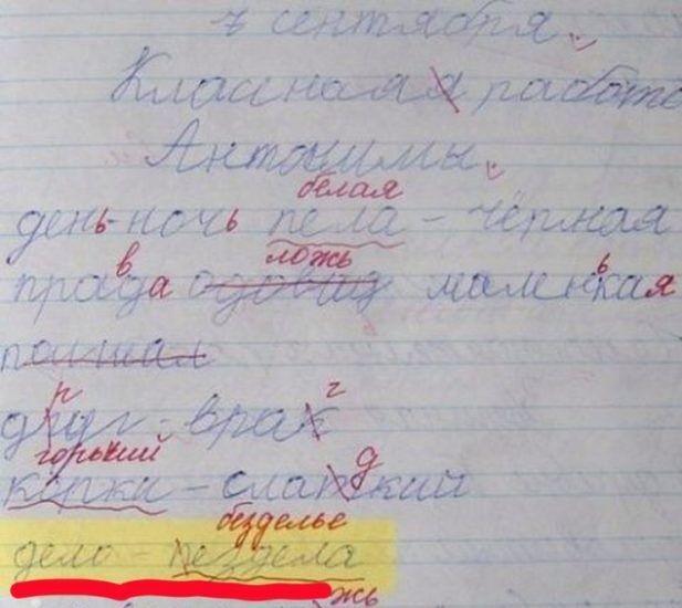 Школьные приколы - дневники и объяснительные