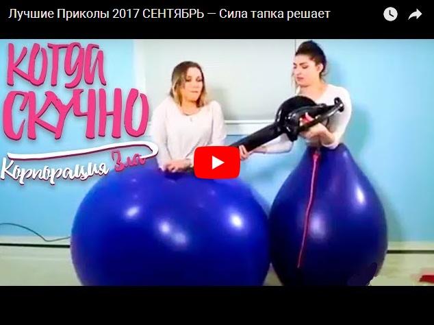 Подборка прикольного видео из Сети - сентябрь 2017