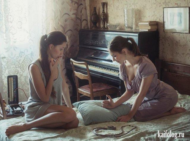 Фотографии симпатичных девушек - красивые картинки