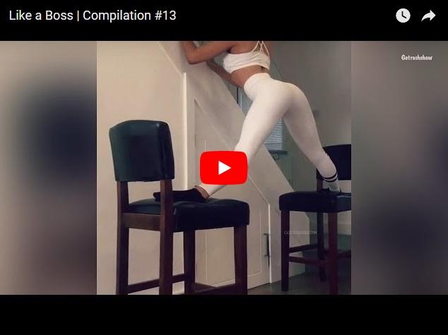Подборка свеженького прикольного видео от канала Like a Boss