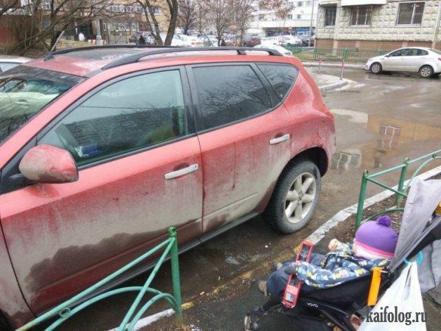 Как паркуются настоящие бараны