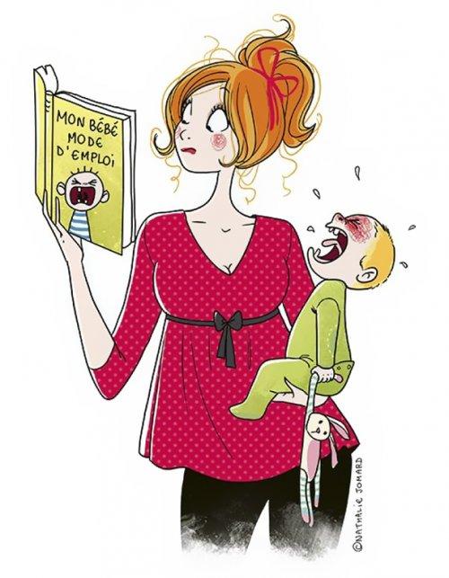 Жизнь с маленькими детьми в правдивых комиксах