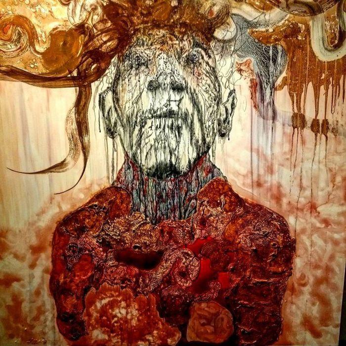 Картины, нарисованные людьми с психическими расстройствами