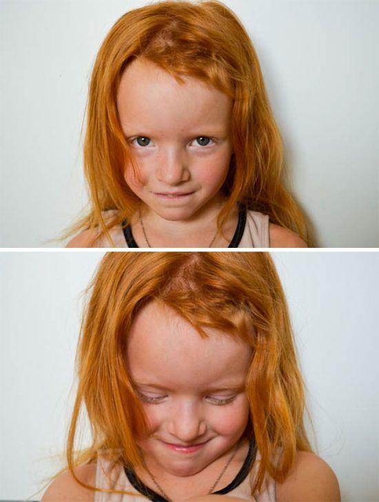 Тот момент, когда дети решили подстричь себя сами