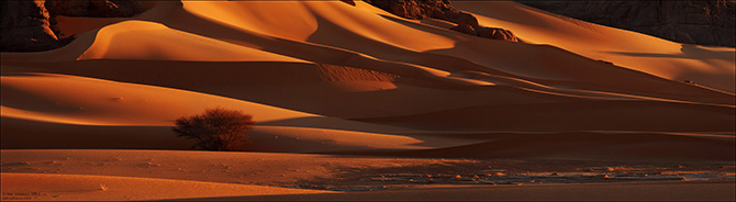 Инопланетные пейзажи пустыни Сахара