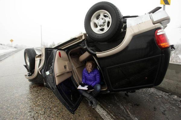 Тот момент, когда девушки за рулем - свежие автоприколы