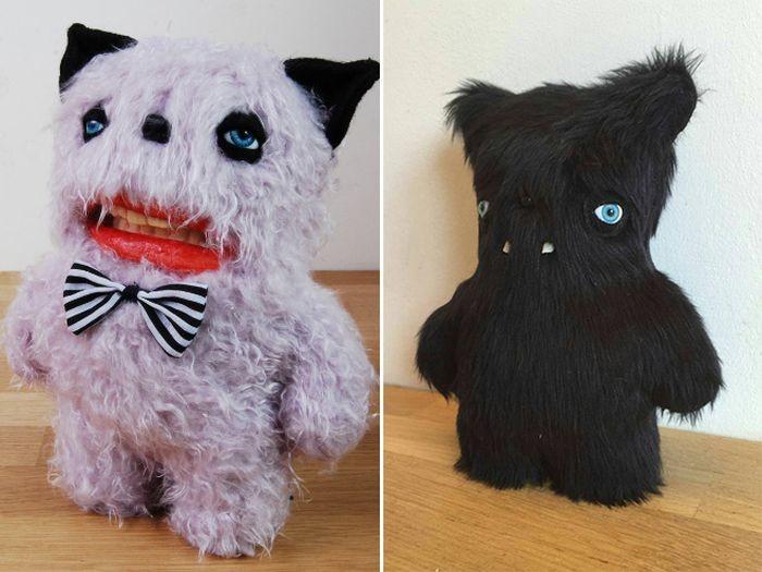 Плюшевые игрушки-монстры от художницы Анны Стерник