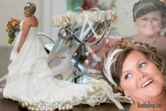 Когда переборщили - подборка свадебного фотошопа