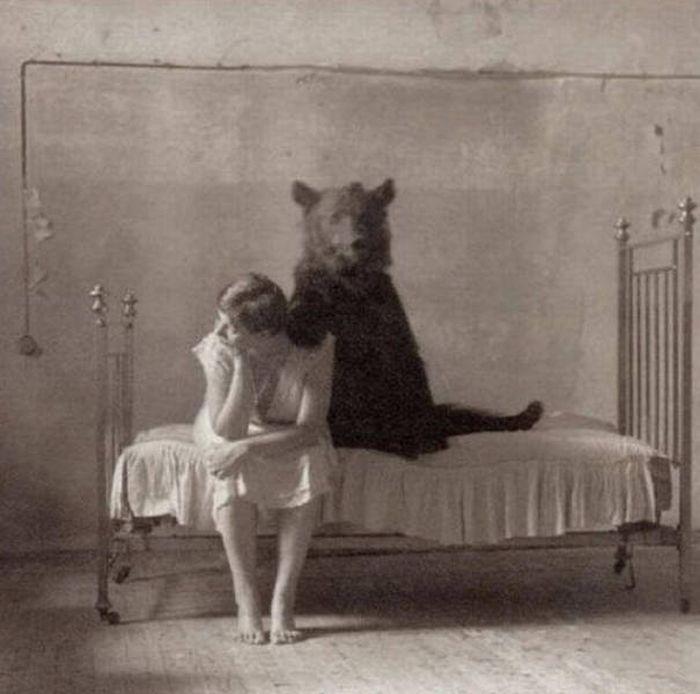 Странные фотографии из прошлого