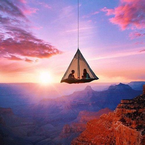 Вот где нужно хотя бы раз переночевать - самые красивые места мира