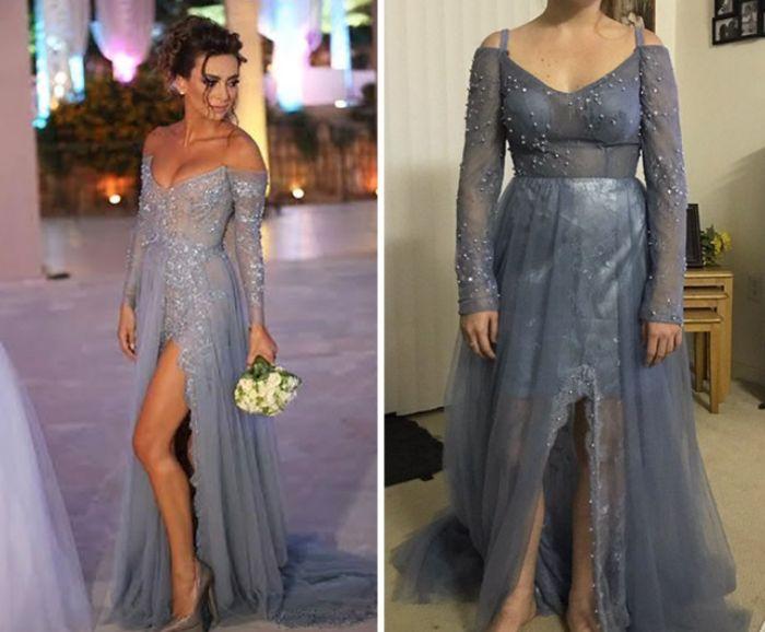 Ожидание и реальность - платья из интернет-магазинов