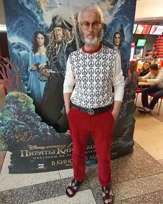 Борис Дунаевский - самый модный пенсионер Хабаровска
