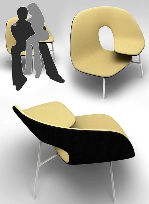 Как выглядит мебель для влюбленных