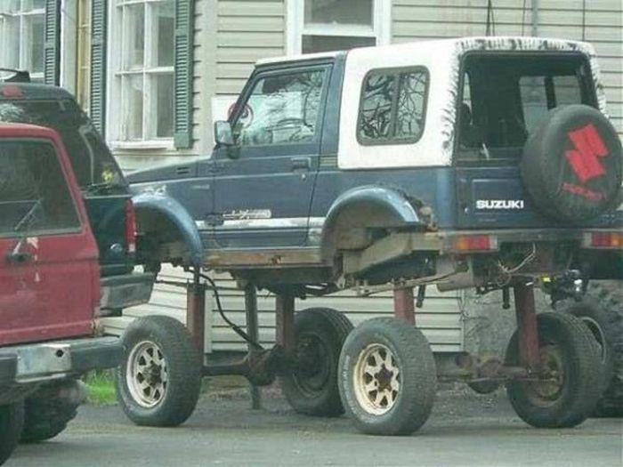 Самые странные автомобили - подборка автоприколов