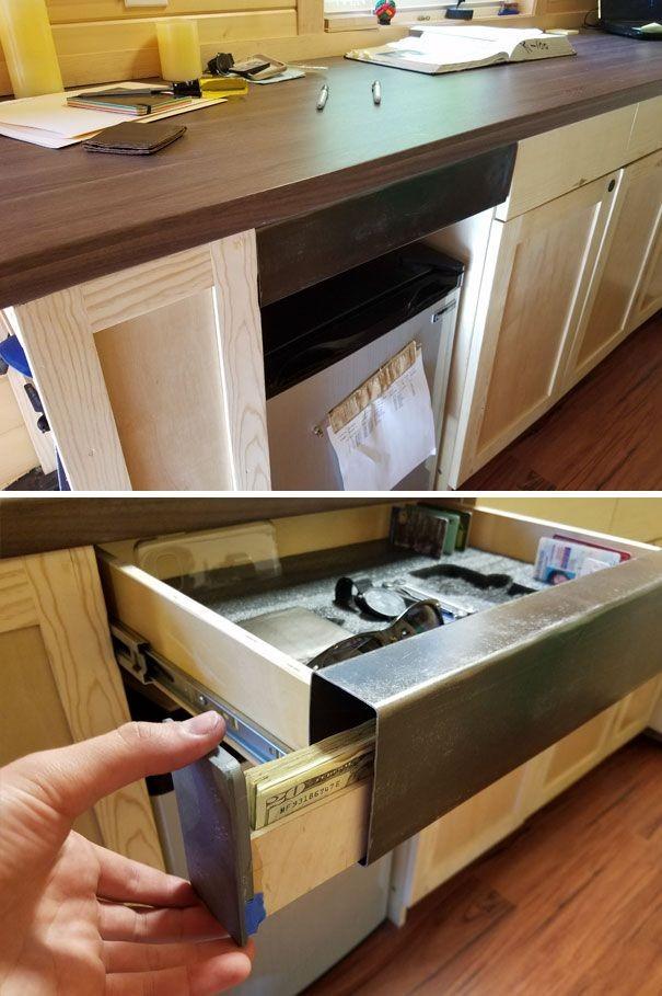 Как оборудовать надежный тайник в своем доме