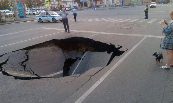 Русские дороги, бессмысленные и беспощадные...