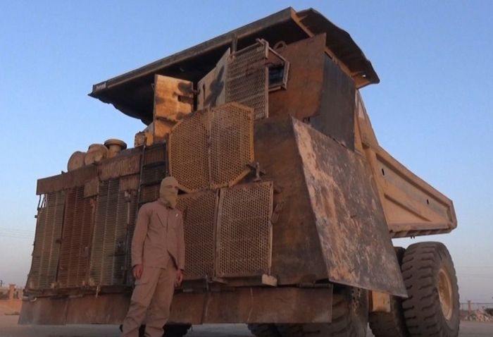 Самодельная техника боевиков на Ближнем Востоке