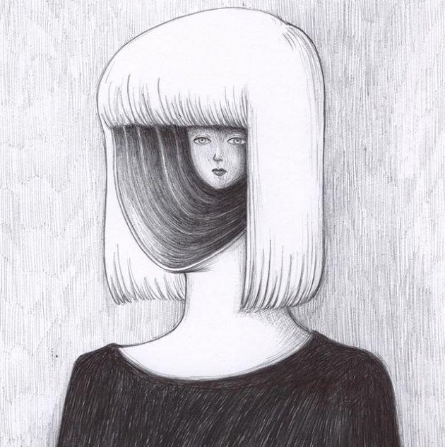 Странные рисунки художника Вирджиниии Мори