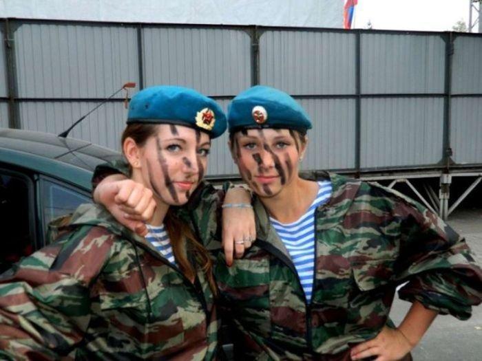 Женщины в Воздушно Десантных Войсках. Красивые фото