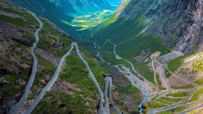 Самые красивые автотрассы мира. Путешествия