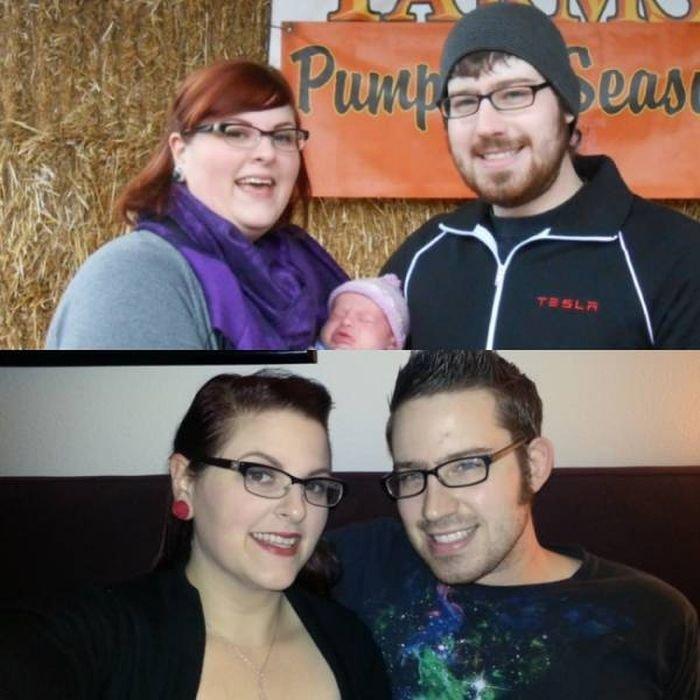 До и после: пары, которые вместе работали над собой