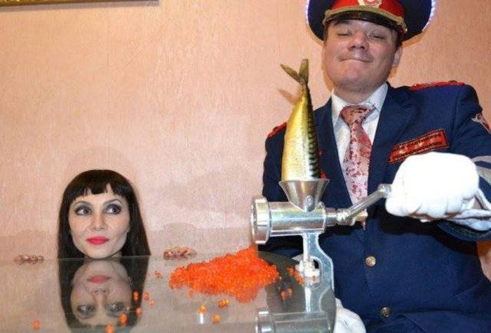 Самые странные фотографии из России