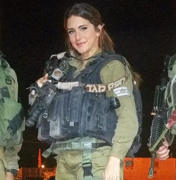 Самый красивый солдат израильской армии