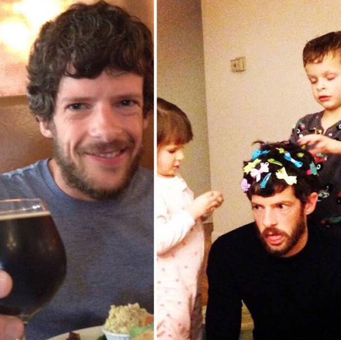 Как выглядит жизнь до и после рождения детей