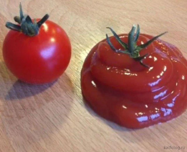 Прикольные картинки про кетчуп
