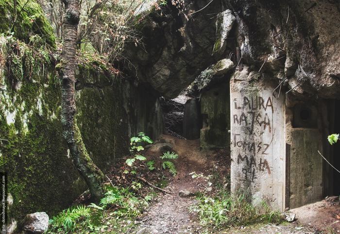 Масштабный немецкий бункер в Польше. Производит впечатление