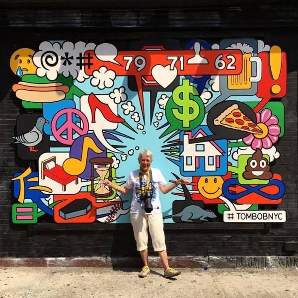 Как раскрасить унылый городской пейзаж. Фото из Нью-Йорка