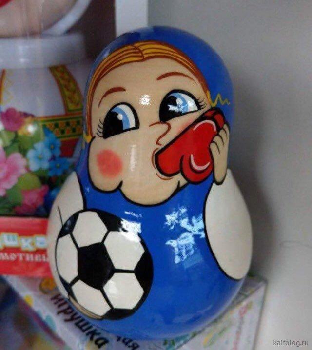Приколы про чемпионат мира по футболу - 2018