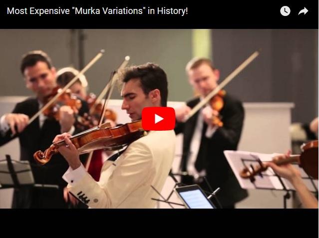 Очередная вариация Мурки в исполнении скрипичного оркестра