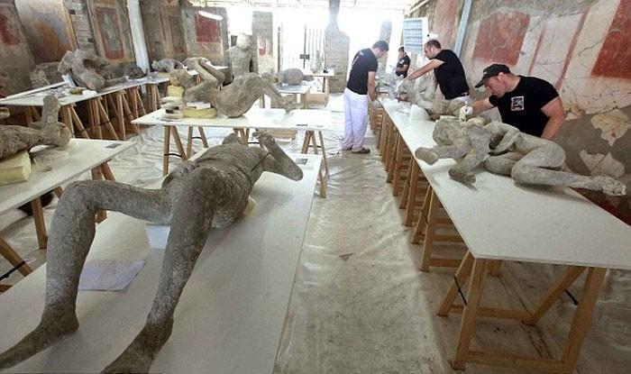 Что нашли ученые под пеплом Помпеи