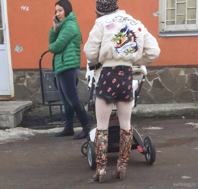 Русский гламур - бессмысленный и беспощадный