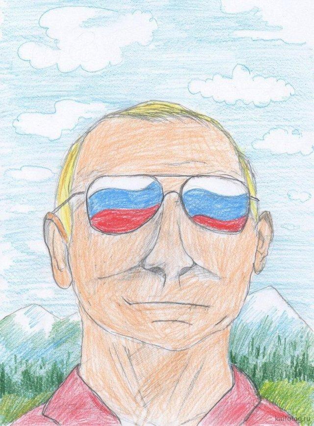 Путин глазами детей