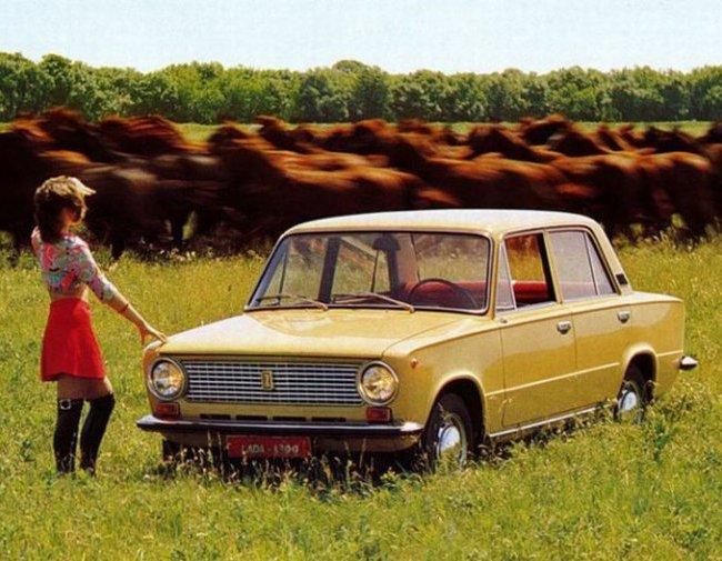Как выглядела советская реклама автомобилей
