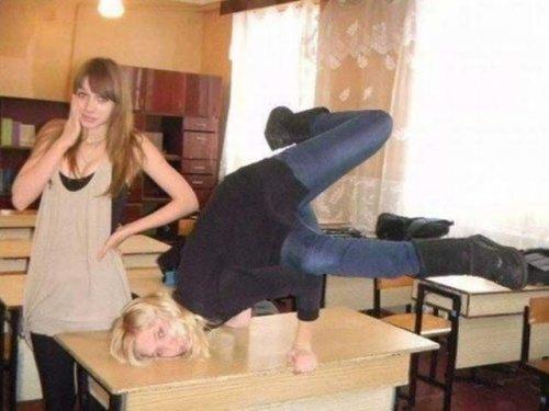 Поразительные способности девушек