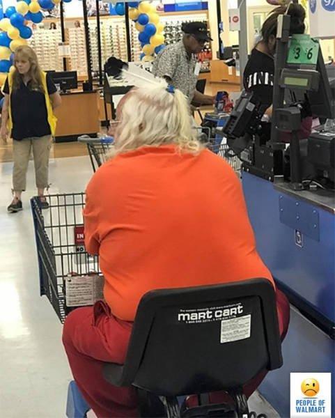 Странные люди в супермаркетах