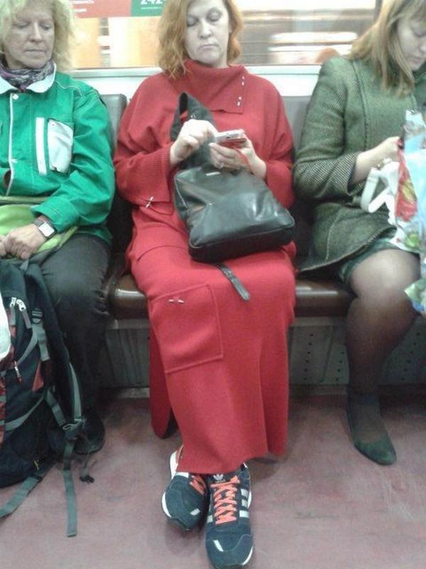 Приколы из российского метрополитена