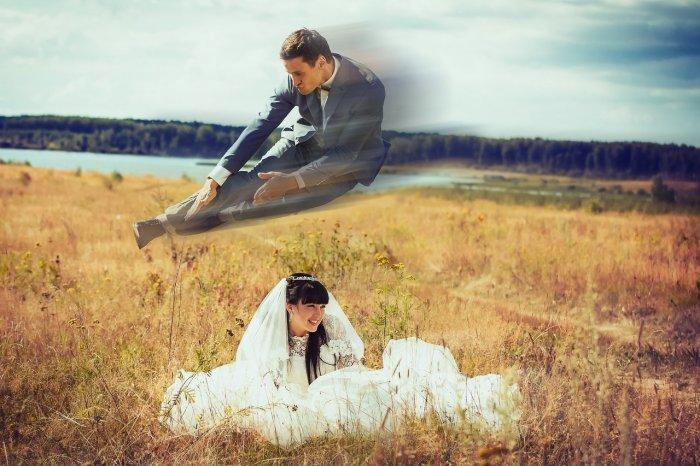 Самые нелепые свадебные фото