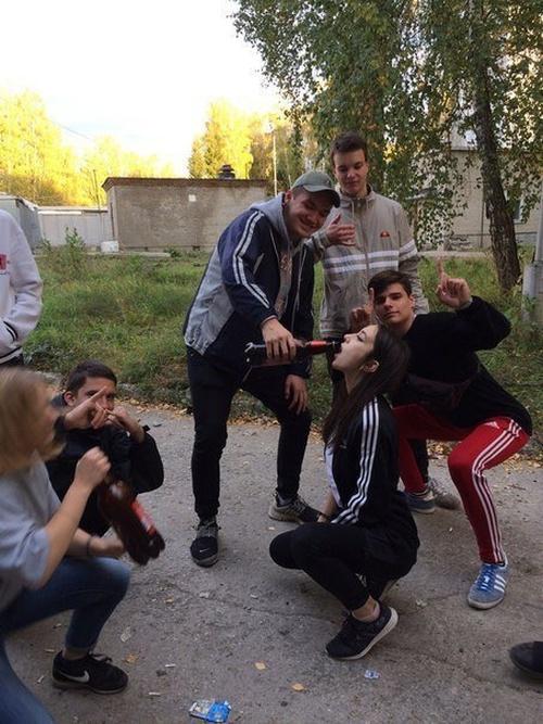 Как развлекается современная молодежь