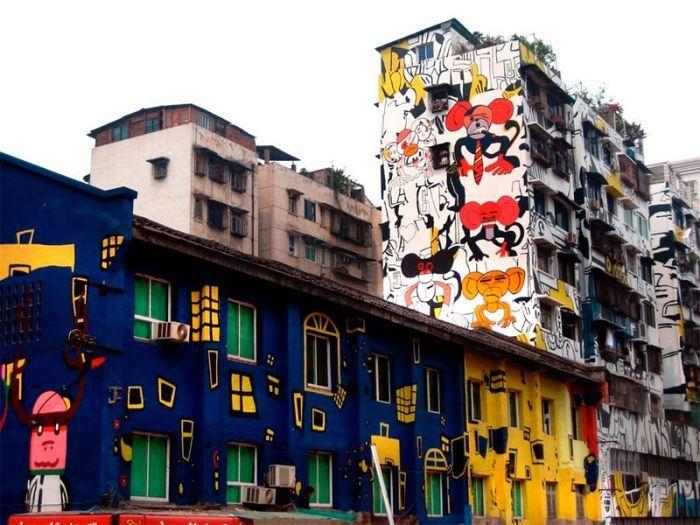 И вновь уличный стрит-арт